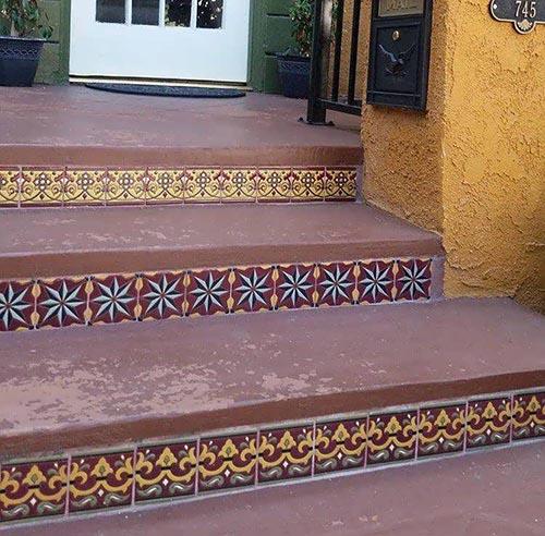 چیدمان، کاشی سنتی مراکشی