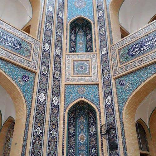 کاشی سنتی مساجد و محراب